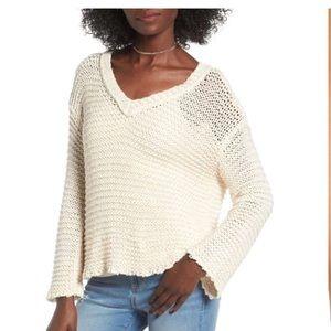 O'Neil loose knit sweater